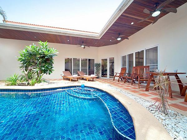 บ้านพักพัทยาสระว่ายน้ำส่วนตัว