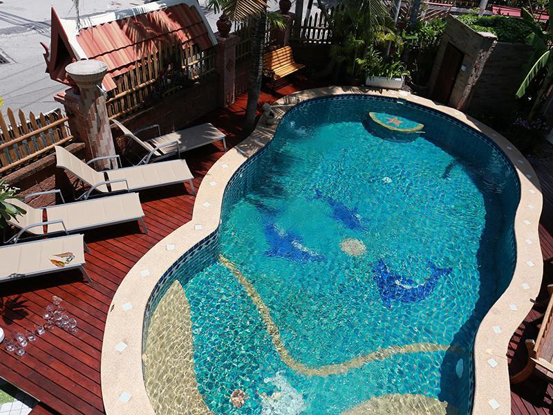 รีวิว บ้านพักพัทยาสระว่ายน้ำส่วนตัว 10 - 20 คน
