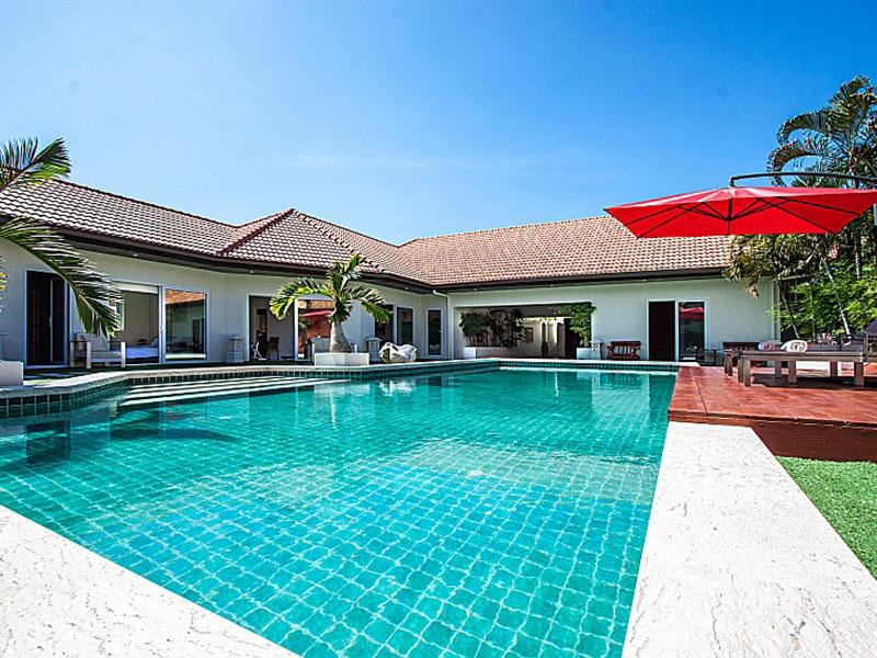 รีวิว บ้านพักพัทยาสระว่ายน้ำส่วนตัว 8 คน